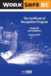 WorkSafe COR program cover